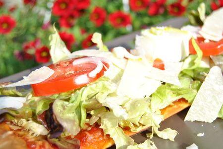 La pizza soleiade