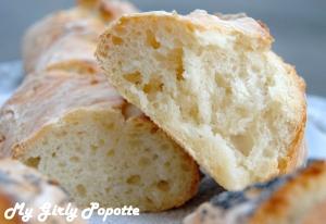 baguette magique pain sans pétrissage