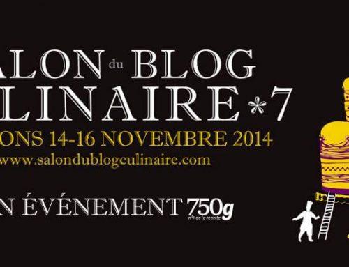 Salon du Blog Culinaire du 15 au 16 novembre 2014
