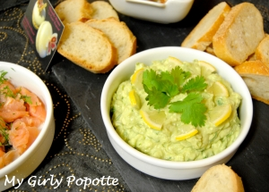 tartinade a l'avocat my girly popotte