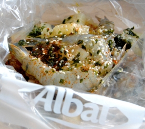 papillote albal gambas ananas my girly popotte 1