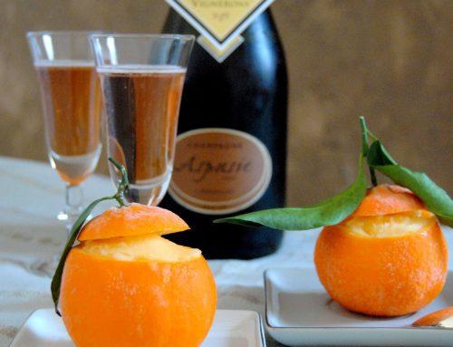 Mandarines givrées