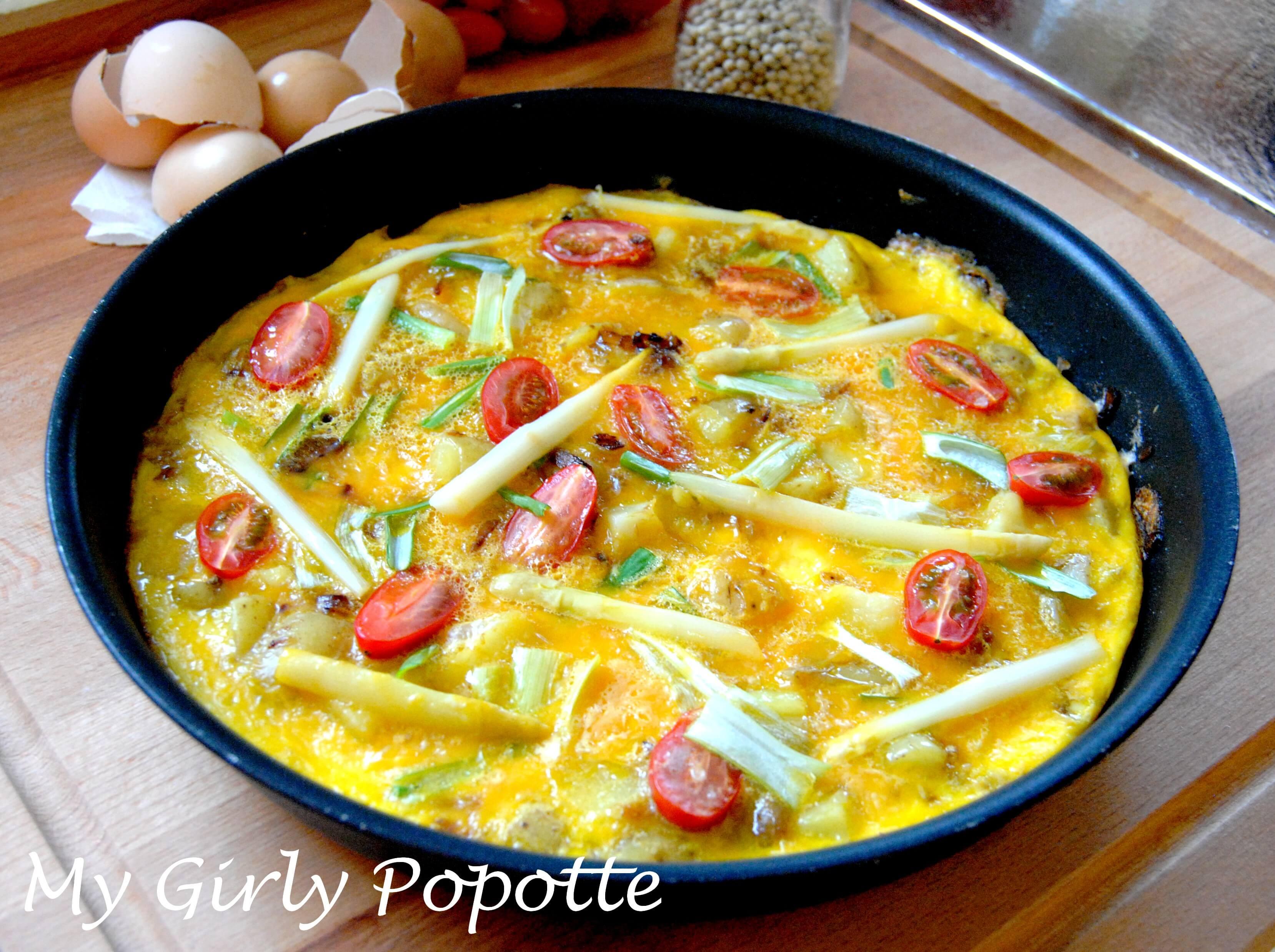 omelette printanière my girly popotte1