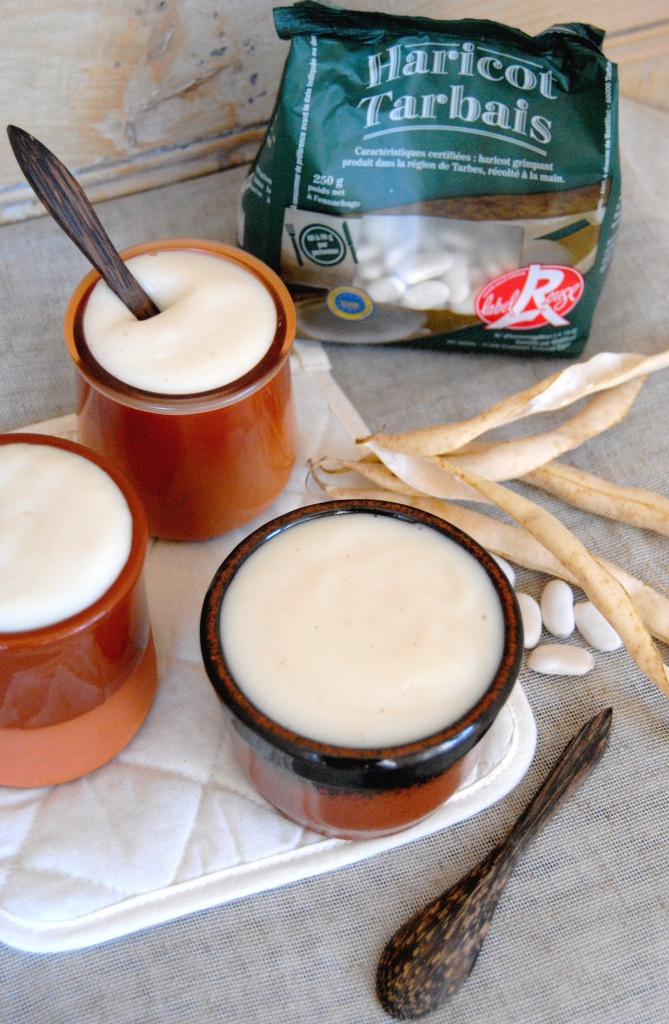 crème dessert aux haricots tarbais 1