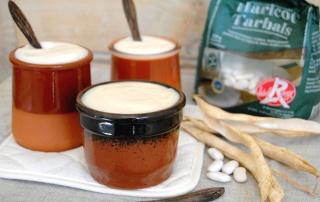 crème dessert aux haricots tarbais 2