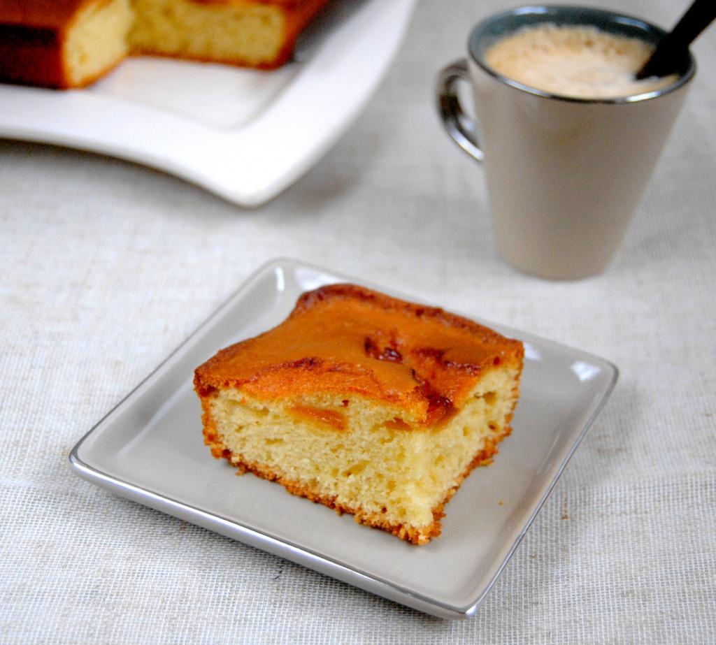 gâteau yaourt abricots my girly popotte