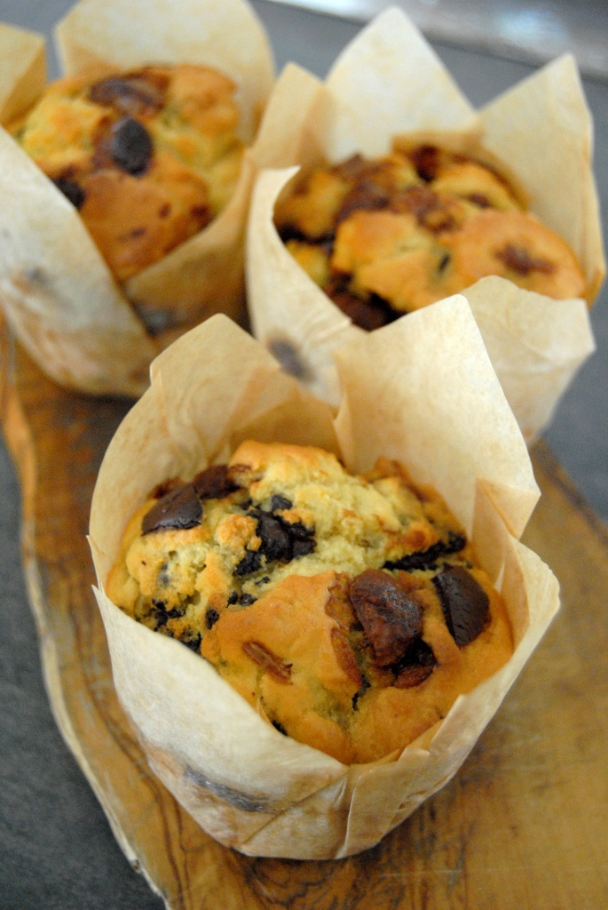 muffins aux haricots tarbais pepites chocolat 1 my girly popotte