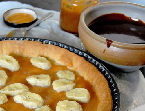 Tarte chocolat banane de Dorian