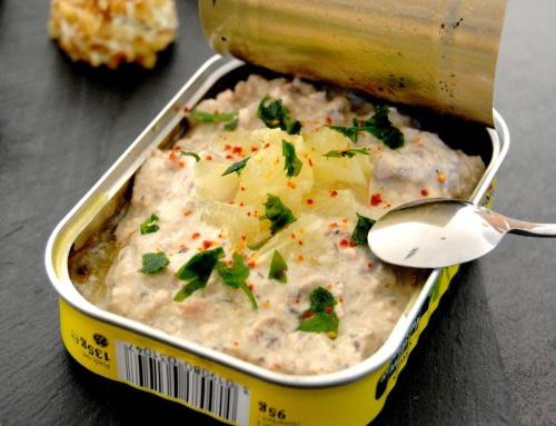 Rillettes de sardines au citron – tartinade pour l'apéritif