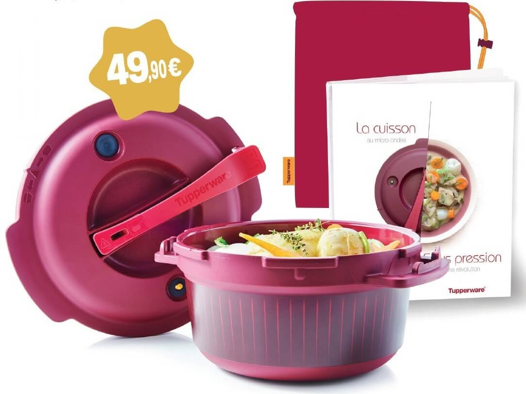 Micro minute de tupperware j 39 ai test recettes my girly popotte - Recette cocotte minute tupperware ...