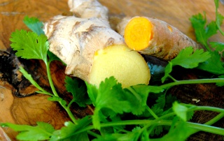 curcuma-gingembre-coriandre