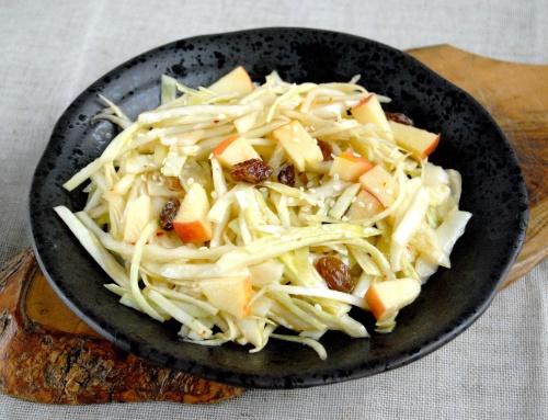 Salade de choux aux saveurs asiatiques