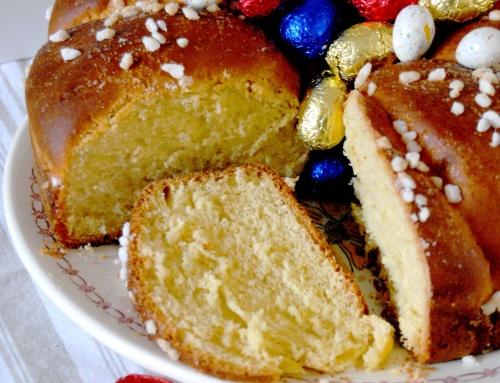 Tourteau gascon à l'anis – recette de Pâques