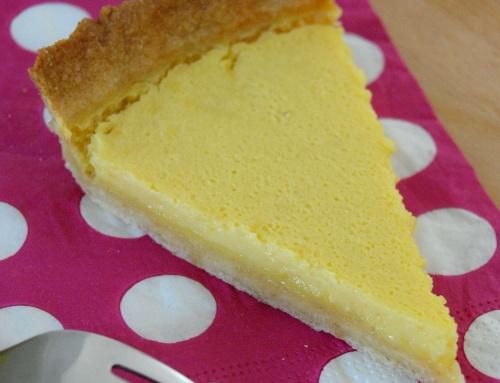 Tarte au citron et kéfir de lait