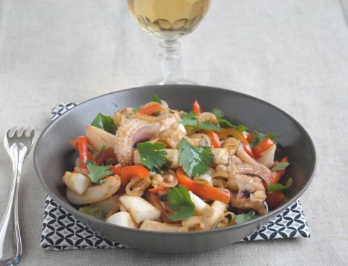 Seiches à l'asiatique – Avec Pavillon France, les produits de la mer sont en fête