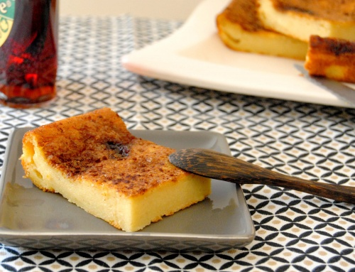 Cuajada à la vanille et cannelle