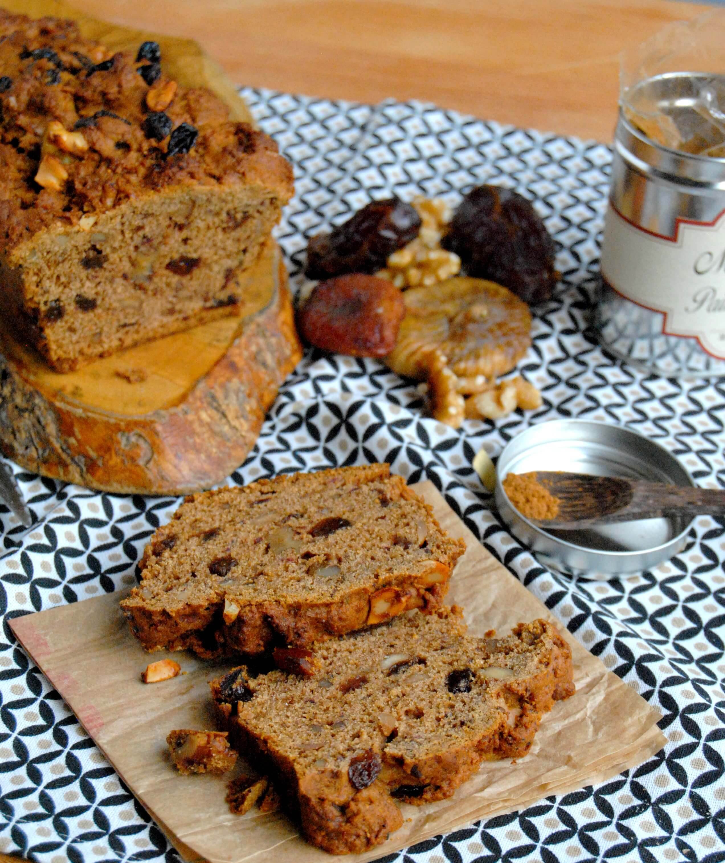 cake aux fruits secs healthy fall cake recette sans oeuf recettes my girly popotte. Black Bedroom Furniture Sets. Home Design Ideas