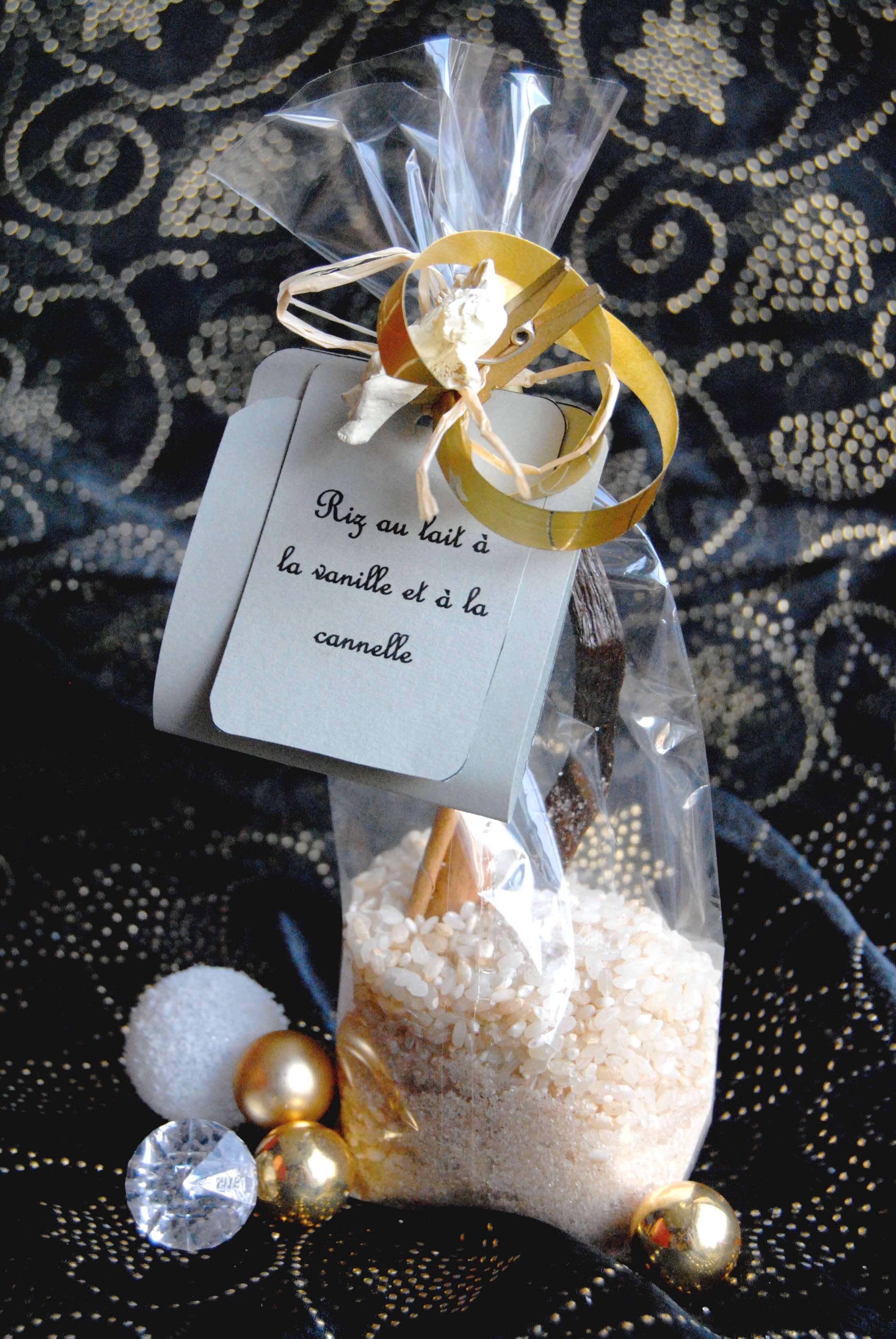 Kit riz au lait cadeau gourmand maison recettes my girly popotte - Riz au lait maison ...