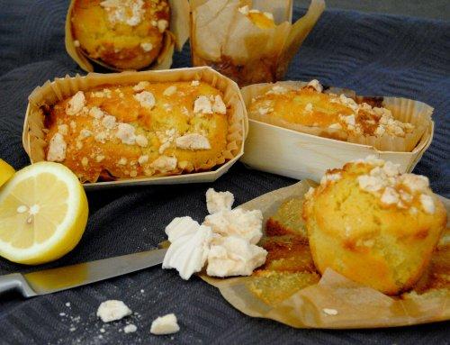 Cake au citron et pépites de meringue