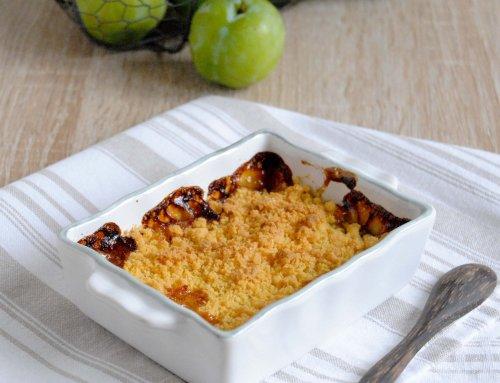 Crumble aux prunes – Recette sans gluten