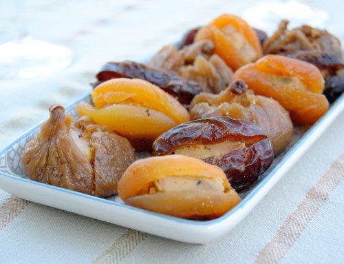 Fruits déguisés au Foie Gras et champagne Labbé & Fils
