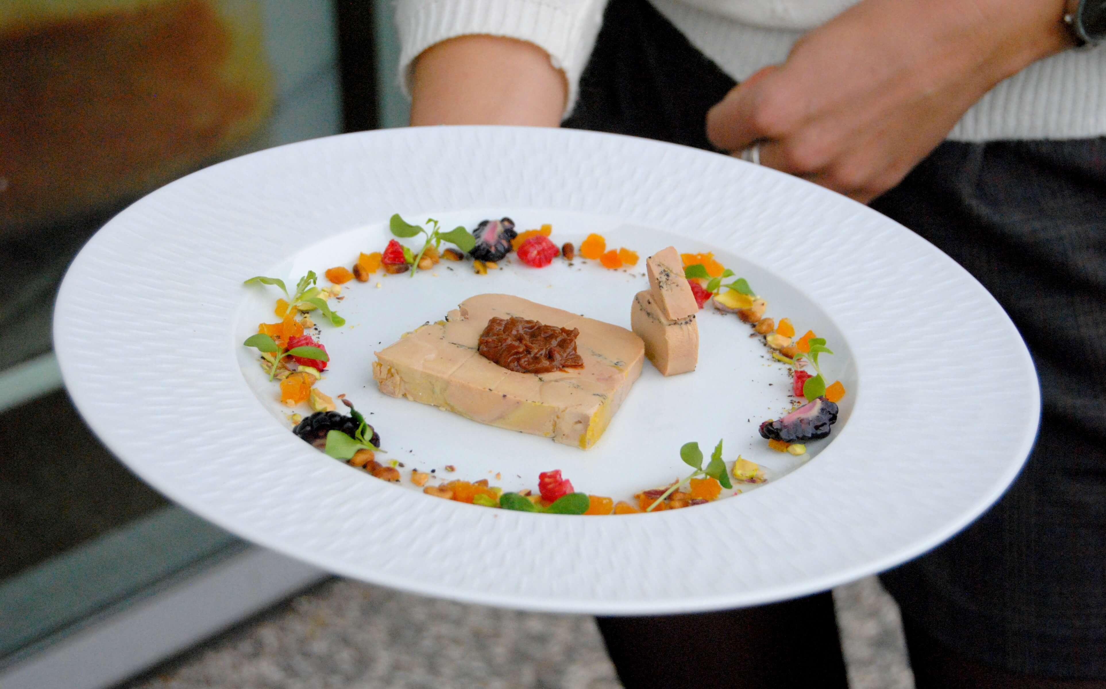 comment dresser une assiette de foie gras