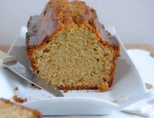 Cake à l'amande et bergamote confite