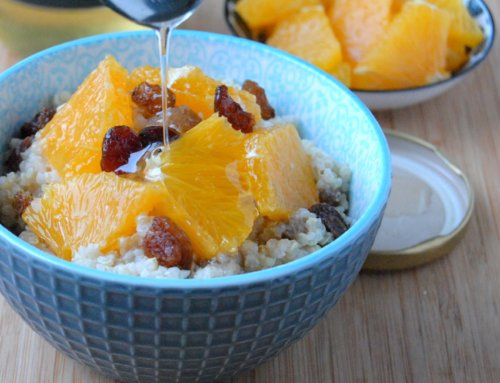 Porridge au quinoa et aux fruits