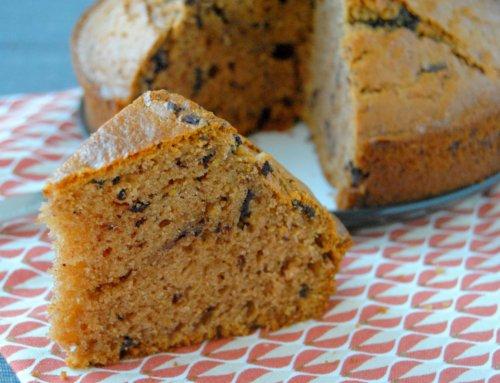 Gâteau au yaourt crème de marron et chocolat