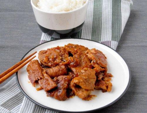 Porc caramélisé Hongshao 红烧肉