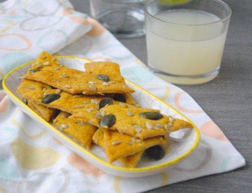 Crackers aux graines – Recette anti-gaspi