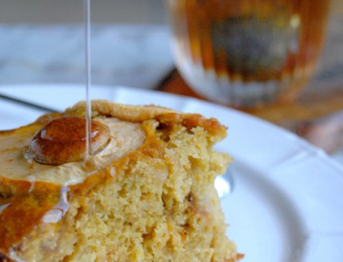 Gâteau aux pommes et aux poires