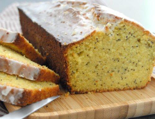 Cake citron, amande et pavot