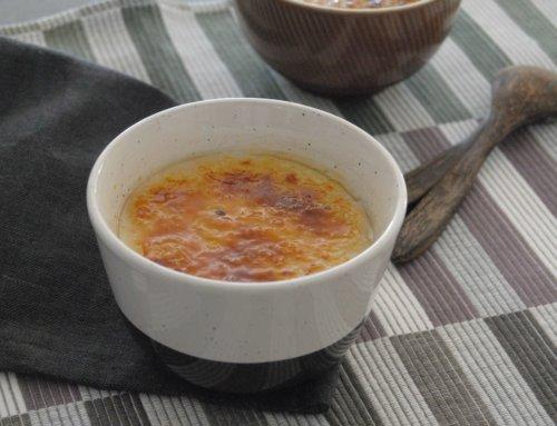 Crème à la noix de coco – Sans œuf, ni gluten, ni lait